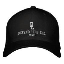 DEFEND LIFE LTD., MMVIII EMBROIDERED BASEBALL HAT