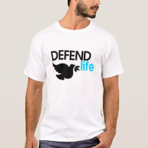 Defend Life White Tee
