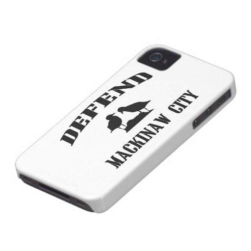 Defend Mackinaw City Case-Mate iPhone 4 Cases