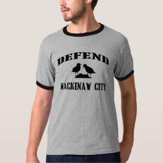Defend Mackinaw City Men's T-Shirt