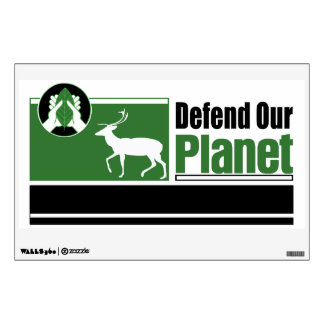 Defend Our Planet Wall Sticker