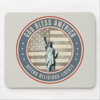 Defend Religious Liberty Mouse Pad