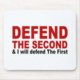 Defend The Second Mouse Pad