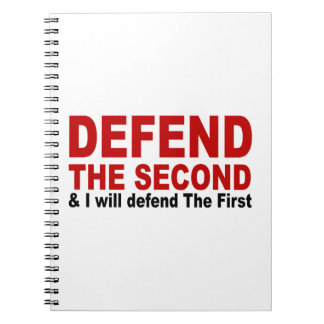 Defend The Second Note Books