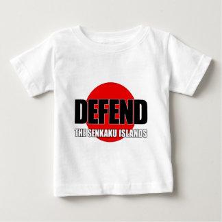 Defend the Senkaku Islands - Japanese Flag Baby T-Shirt