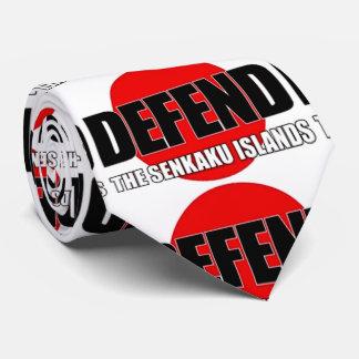 Defend the Senkaku Islands - Japanese Flag Tie