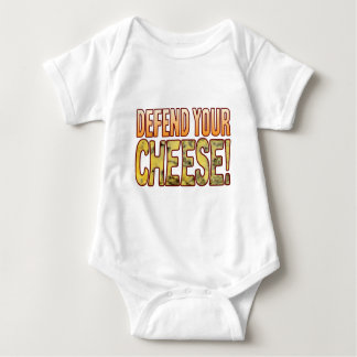 Defend Your Blue Cheese Baby Bodysuit