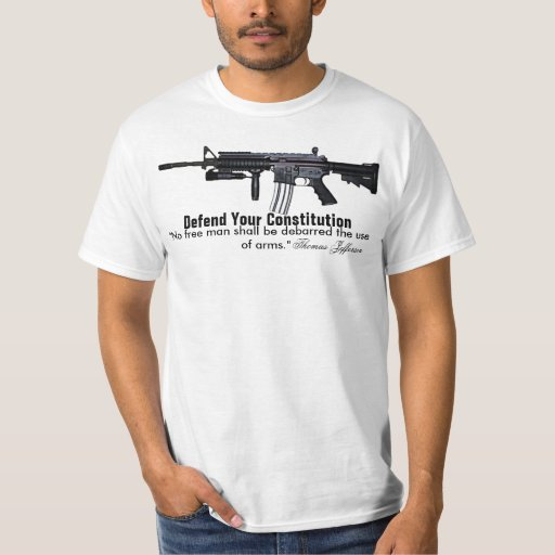 Defend Your Constitution Tshirt