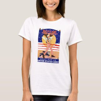 Defend Your Country Enlist Now T-Shirt