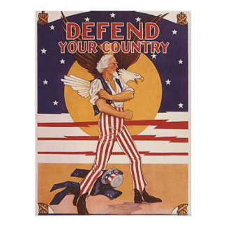 Defend Your Country Poster