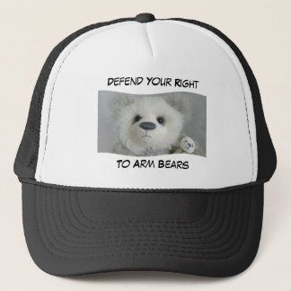 Defend Your Right To Arm Bears, Hat - Black