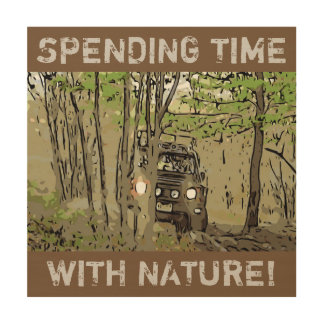 DEFENDER 90 - NATURE WOOD PRINT