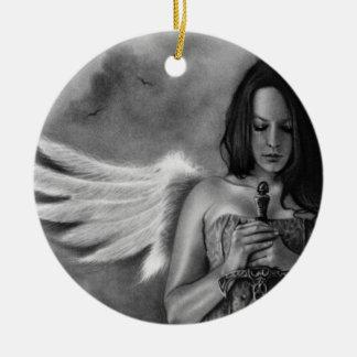 Defender Angel  Girl Sword Ornament