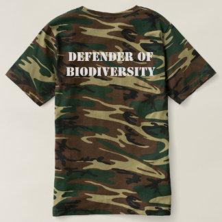 Defender of Biodiversity Camo T-shirt