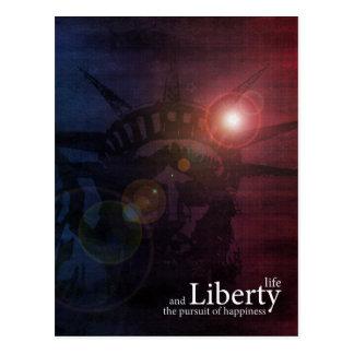 Defender of Liberty Post Card