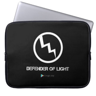 Defender Of Light Laptop Sleeve