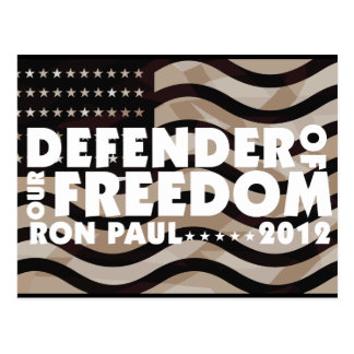 DEFENDER OF OUR FREEDOM POSTCARD