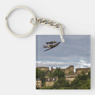 Defenders Of The Town Keychain