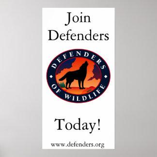 Defenders of Wildlife Poster