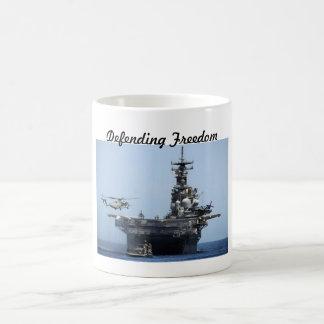 Defending Freedom coffee mug