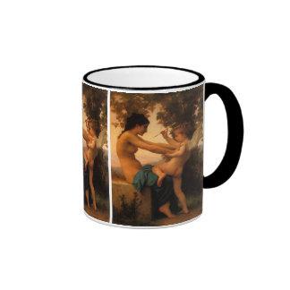 Defending Herself Against Eros (Cupid) Bouguereau Mug