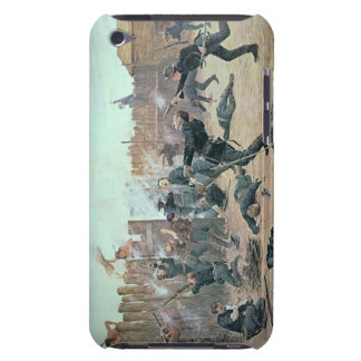 Defending the Fort: Indians attack a U.S. Cavalry iPod Touch Cover