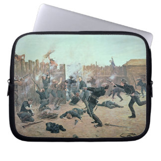 Defending the Fort: Indians attack a U.S. Cavalry Computer Sleeve