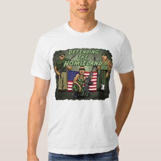 Defending the Homieland T Shirts