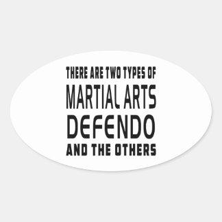 Defendo Martial Arts Designs Sticker
