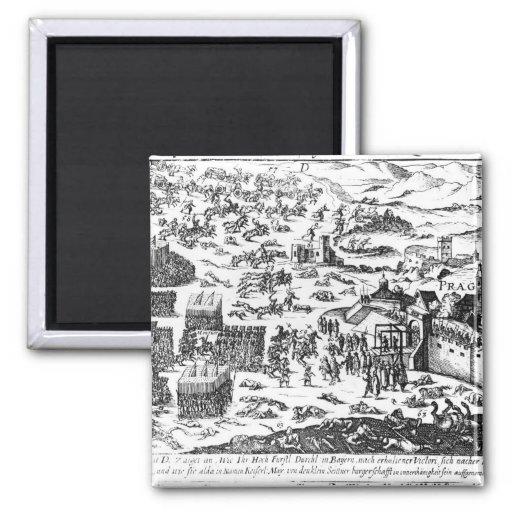 Defenestration de Praga, 1618 Imán Para Frigorífico