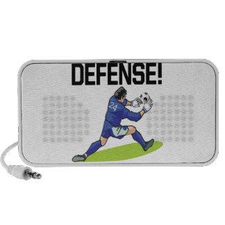 Defensa Laptop Altavoces