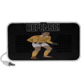 Defensa Altavoces De Viaje