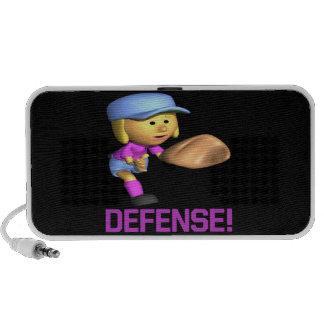 Defensa Portátil Altavoces