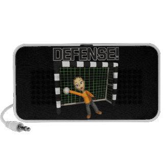 Defensa iPod Altavoz