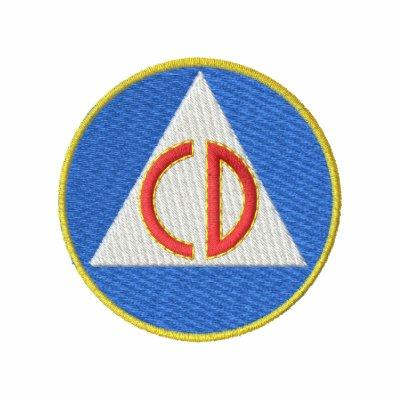 Defensa civil chaquetas bordadas