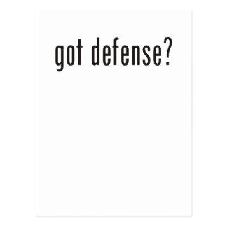¿defensa conseguida postales