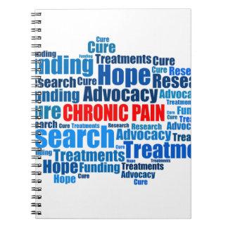 Defensa crónica del dolor libreta espiral