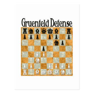 Defensa de Grünfeld Postal