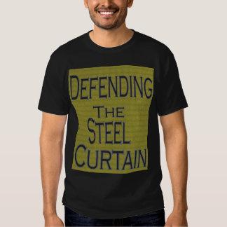 Defensa de la cortina de acero remera