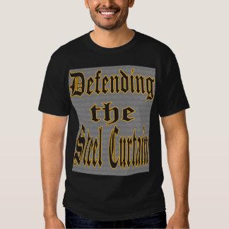 Defensa de la parte de acero II de la cortina Remeras