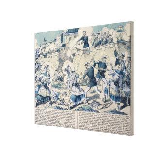 Defensa de Tuyen Quang, el 14 de febrero de 1885 Impresiones En Lienzo Estiradas