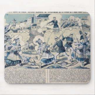 Defensa de Tuyen Quang, el 14 de febrero de 1885 Tapetes De Raton