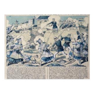 Defensa de Tuyen Quang, el 14 de febrero de 1885 Postales