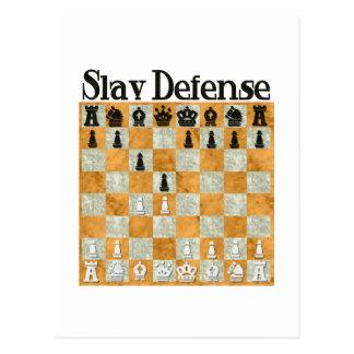Defensa eslava tarjeta postal