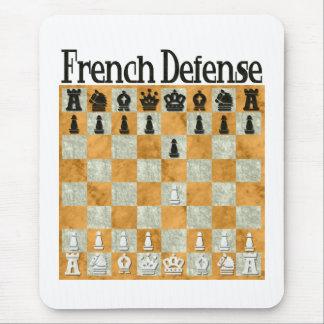 Defensa francesa mousepad