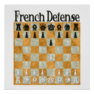 Defensa francesa posters