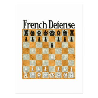 Defensa francesa postal