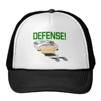 Defensa Gorros Bordados