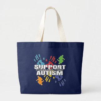 Defensa Handprints del autismo Bolsas
