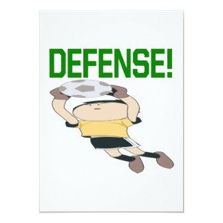 """Defensa Invitación 5"""" X 7"""""""